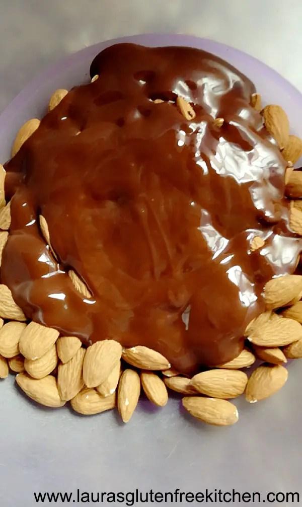Sea Salt & Dark Chocolate Almond Clusters