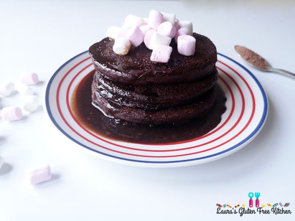Gluten free Hot Chocolate PancakesGluten free Hot Chocolate Pancakes
