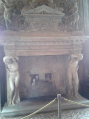 Fireplace in the Antechamber of the Full Council