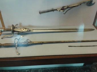 A firearm sword
