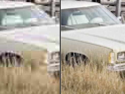 comparison of lightroom jpeg quality 0 to 100