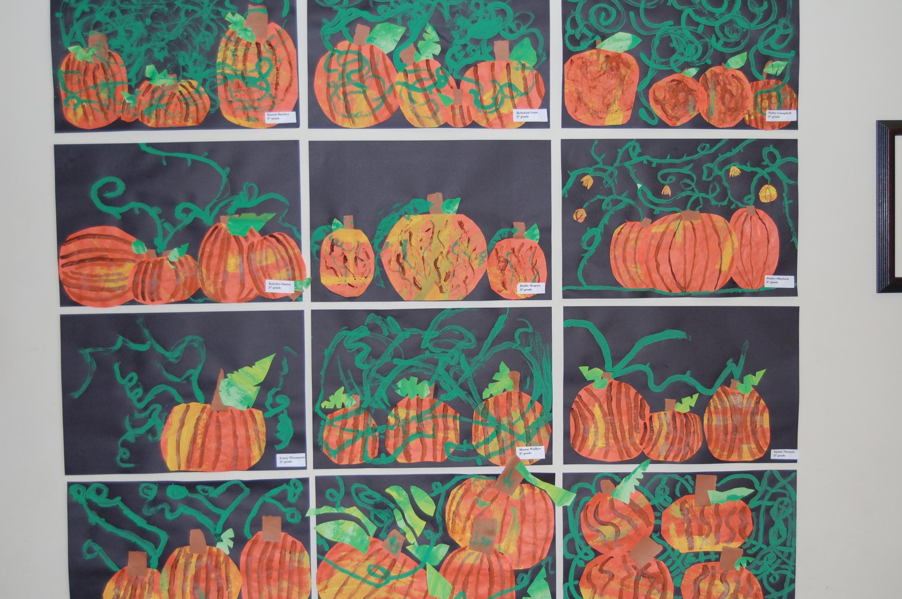 "A ""Painterly"" Palette of Pumpkins"