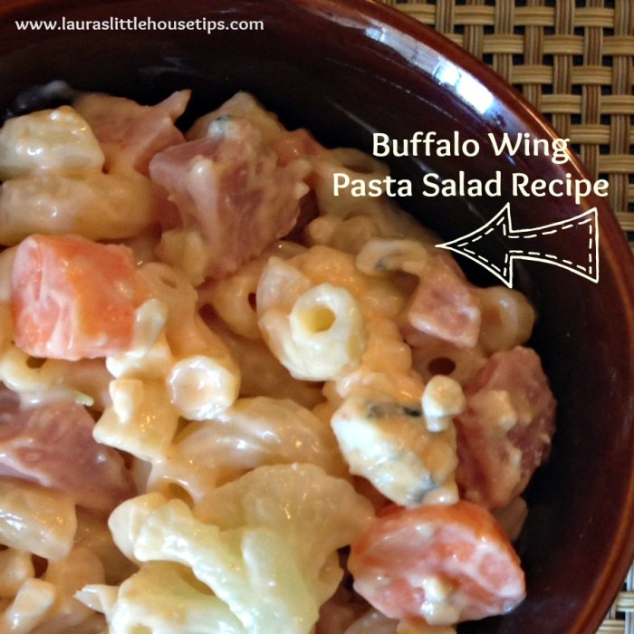 Buffalo Wing Pasta Salad Recipe