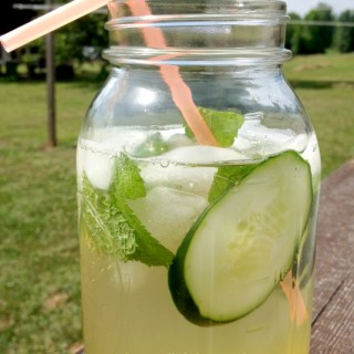 Easy Cucumber Mint Cooler Recipe
