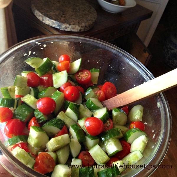 Summertime-Foods-Keeping-It-Cool-In-The-Kitchen www.lauraslittlehousetips.com
