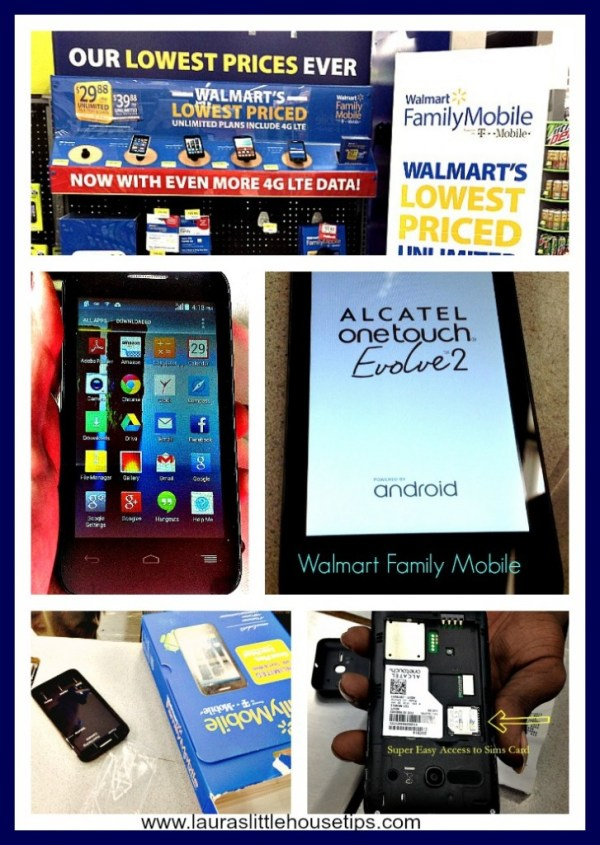 Walmart Family Mobile Alcatel OneTouch Evolve2