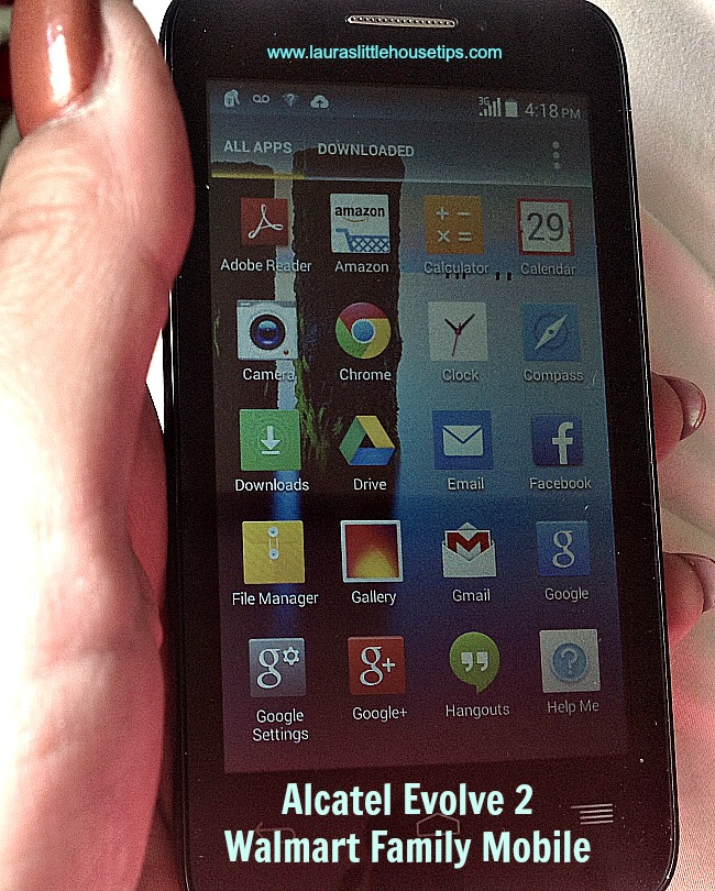 Alcatel Evolve 2 Walmart Family Mobile