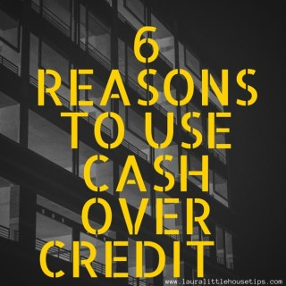 6 Reason to use Cash over Credit