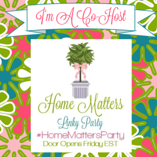Home Matters Linky Party #62