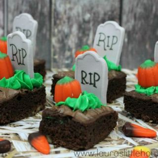 RIP Pumpkin Brownies
