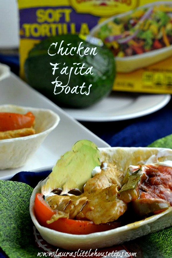 Chicken Fajita Boats