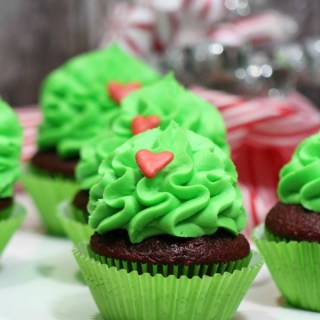 Happy Heart Cupcakes