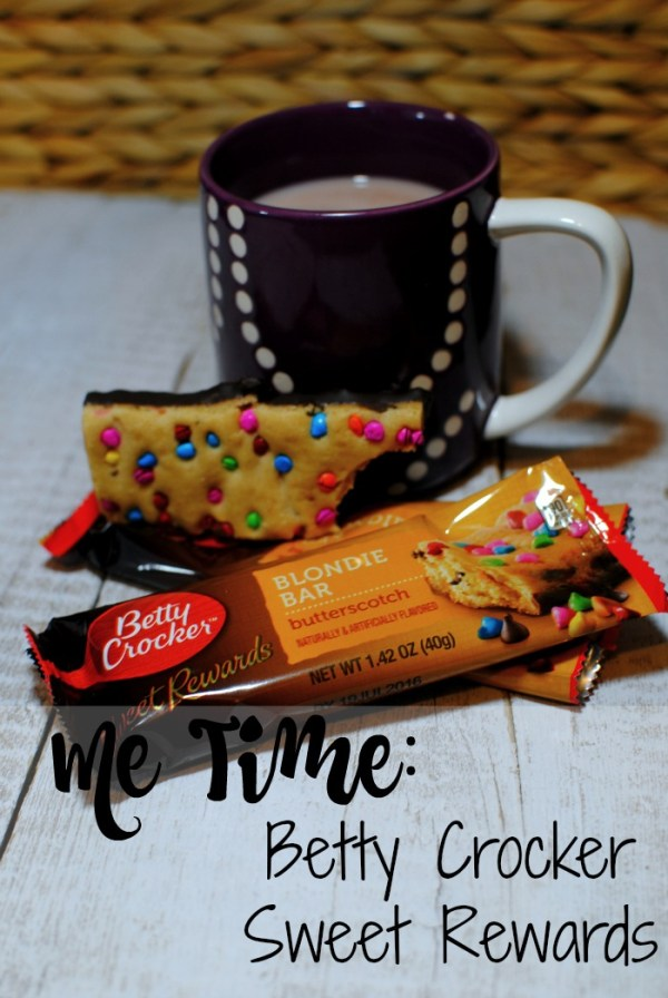 Me time: Betty Crocker Sweet Rewards