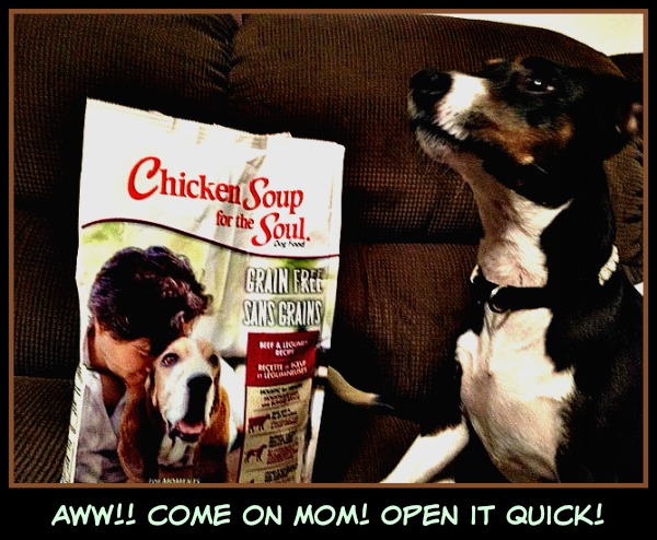 Pet Love with Chicken Soup for Soul Pet Food