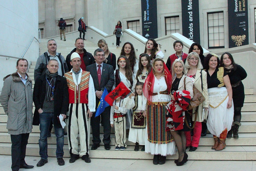 Albanian traditional costumes at the British museum (3/6)