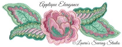 Applique Elegance Banner