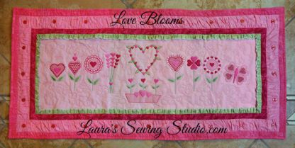 Love Blooms Banner