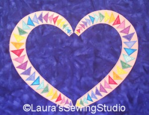 Love Flying Geese Applique Collection