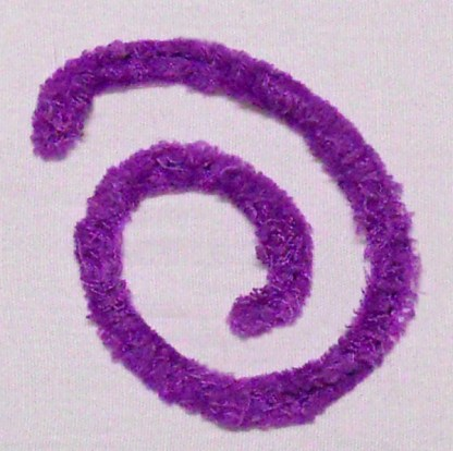 Chenille Hearts N Such - Ampersand