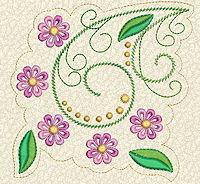 Delicate Florals No. 10