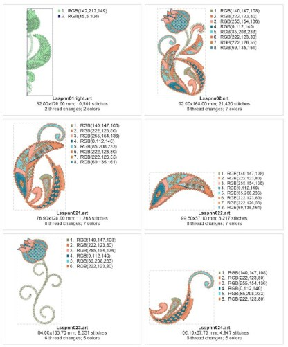 Fantastic Tulip Design Details, Page 2