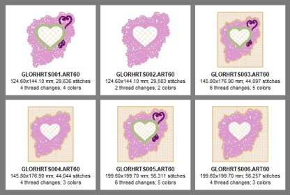 Laura's Sewing Studio Glorious Hearts Design Details-Pg 1 (x600)