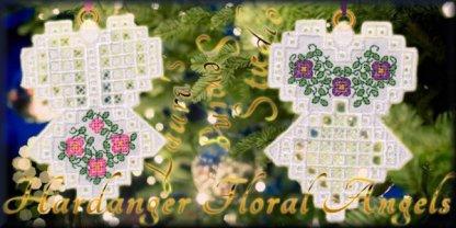 Hardanger Floral Angels Collection
