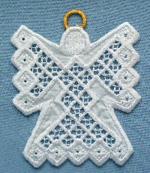 Hardanger Ornaments - Angel