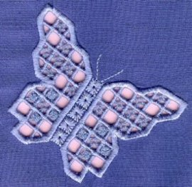 Hardanger Rainbows - Butterfly