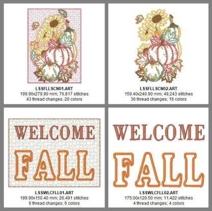 Welcome Fall Design Details