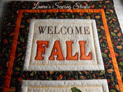 Welcome Fall Banner Project