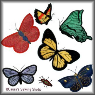 Butterflies Applique