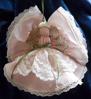 Smocked Angel (Pink)