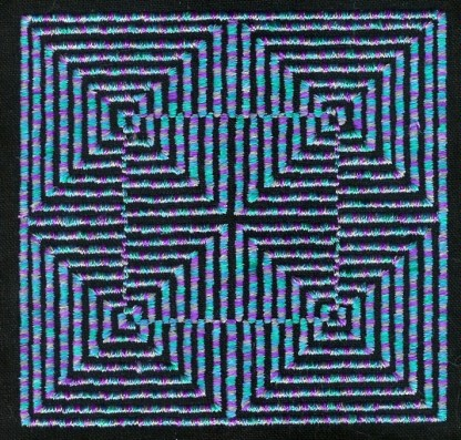 Illusions No. 9 in Variegated Thread