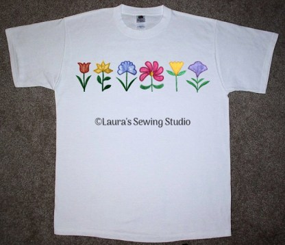 Simple Flowers T-Shirt Parade