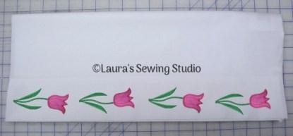 Simple Flowers Pillowcase #3