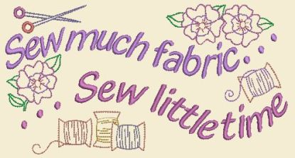 Sewing In Stitches - Sew Little Time