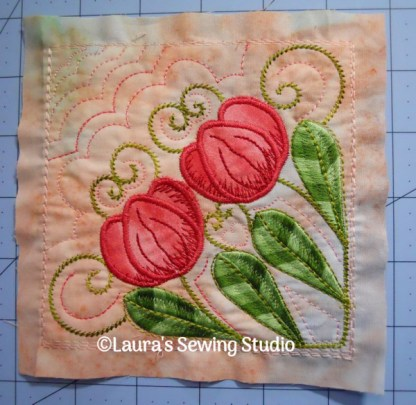 Tulips Filigree No. 1