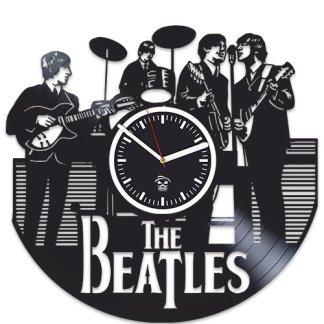The Beatles Clock Wall Art