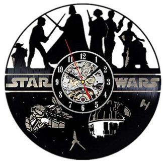 Star Wars Vinyl Wall Clock
