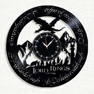 Lord of the Rings Vinyl Wall Clock