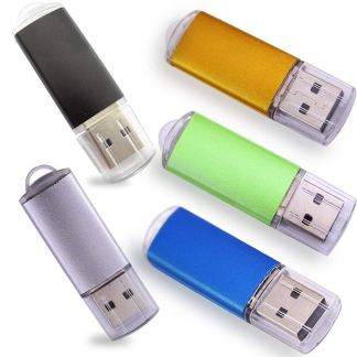 Ebamz USB Drives with LED - 5 Pack