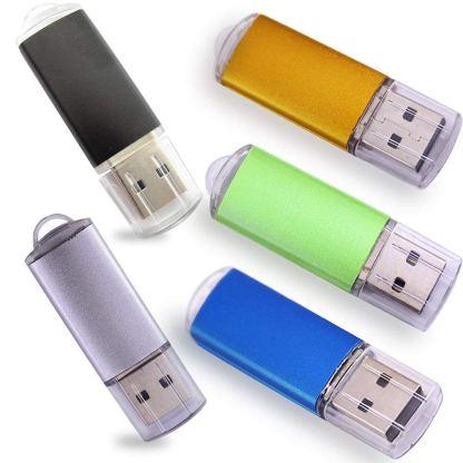 Ebamz USB Drives with LED - 5 Pack