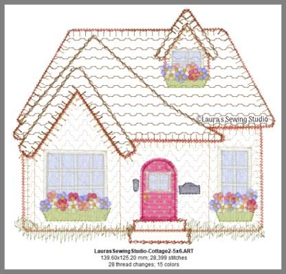 Cottage Love 6-Inch Design Details