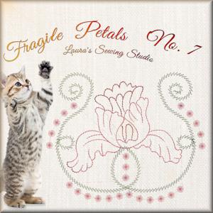 Fragile Petals No. 7 - Free Embroidery Design