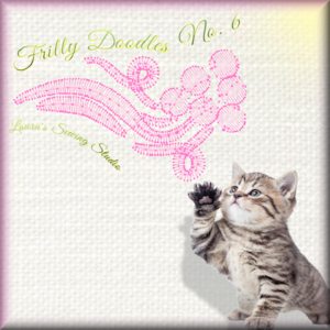 Frilly Doodles No. 6 - Free Embroidery Design