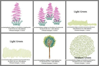 Cottage Love 6-Inch Elements Design Details, Page 2