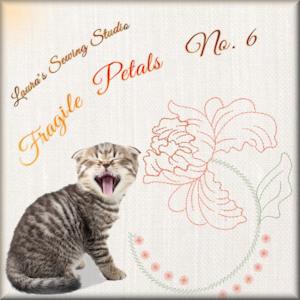 Fragile Petals No. 6 - Free Embroidery Design