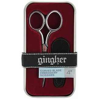 "Gingher 4"" Curved embroidery Scissors"