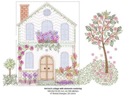 Cottage Rose 4x4 Design Details